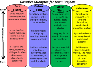 Conative Strengths For Team Projects